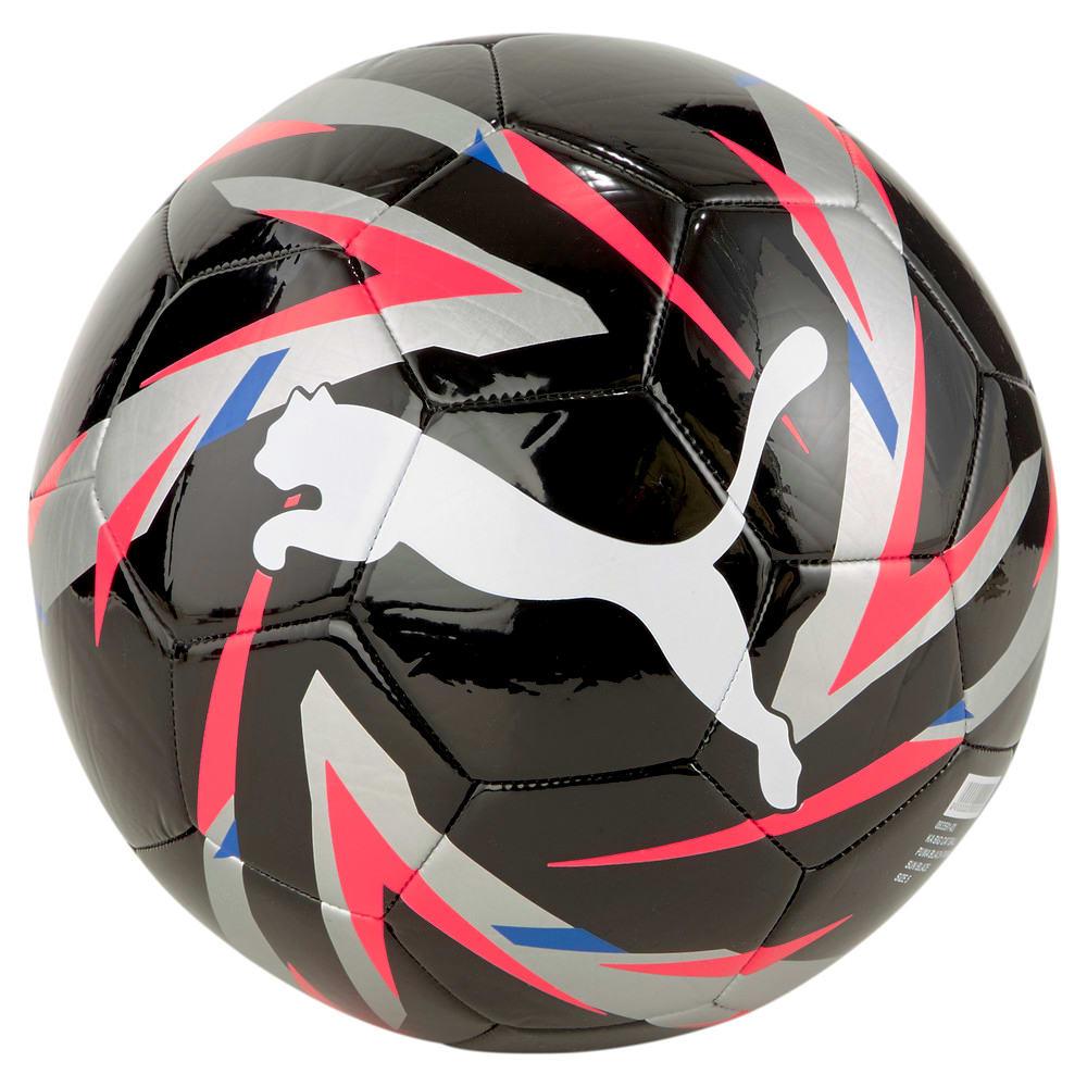 Зображення Puma Футбольний м'яч KA Big Cat Football #1: Puma Black-Puma Silver-Sunblaze