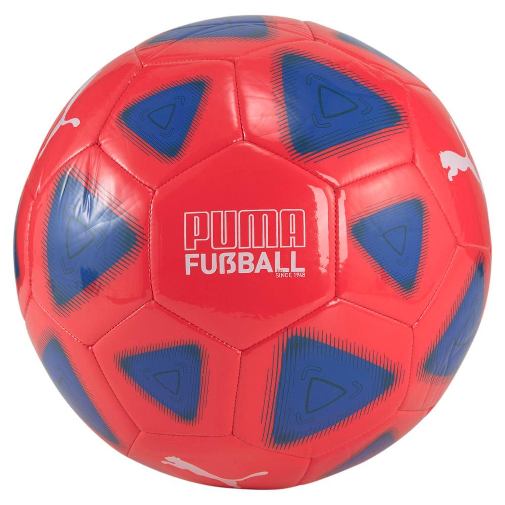 Зображення Puma Футбольний м'яч FUßBALL Prestige Football #1: Sunblaze-Bluemazing-Puma Black