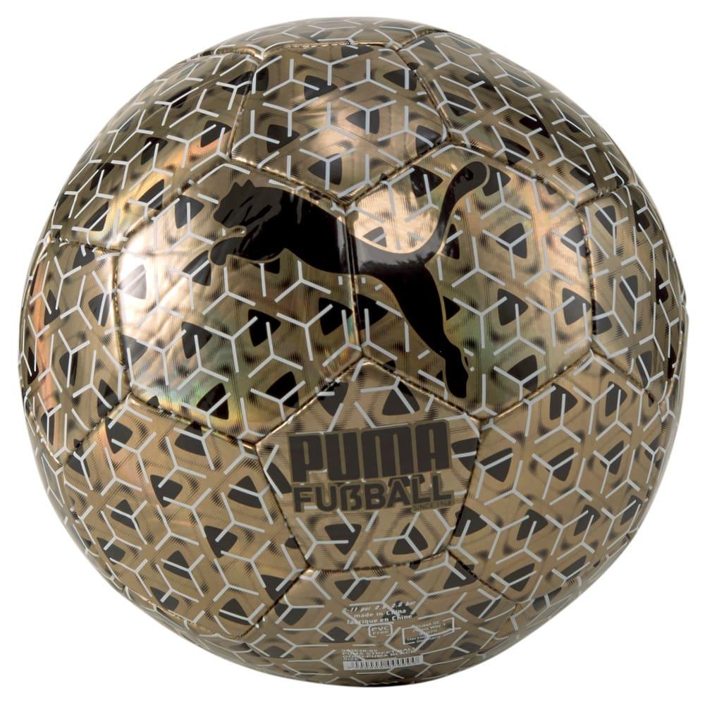 Изображение Puma Футбольный мяч Street Football #1: Gold-Puma Black