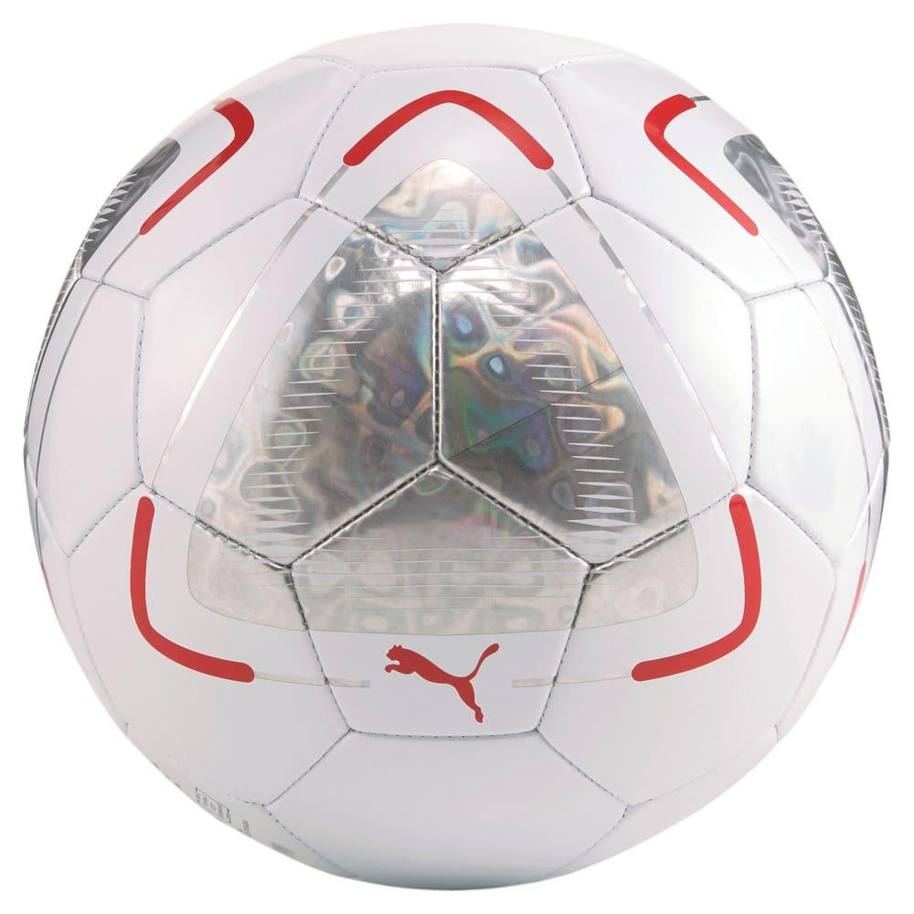 Зображення Puma Футбольний м'яч FUßBALL Park Football #2: Puma White-Elektro Aqua-Sunblaze