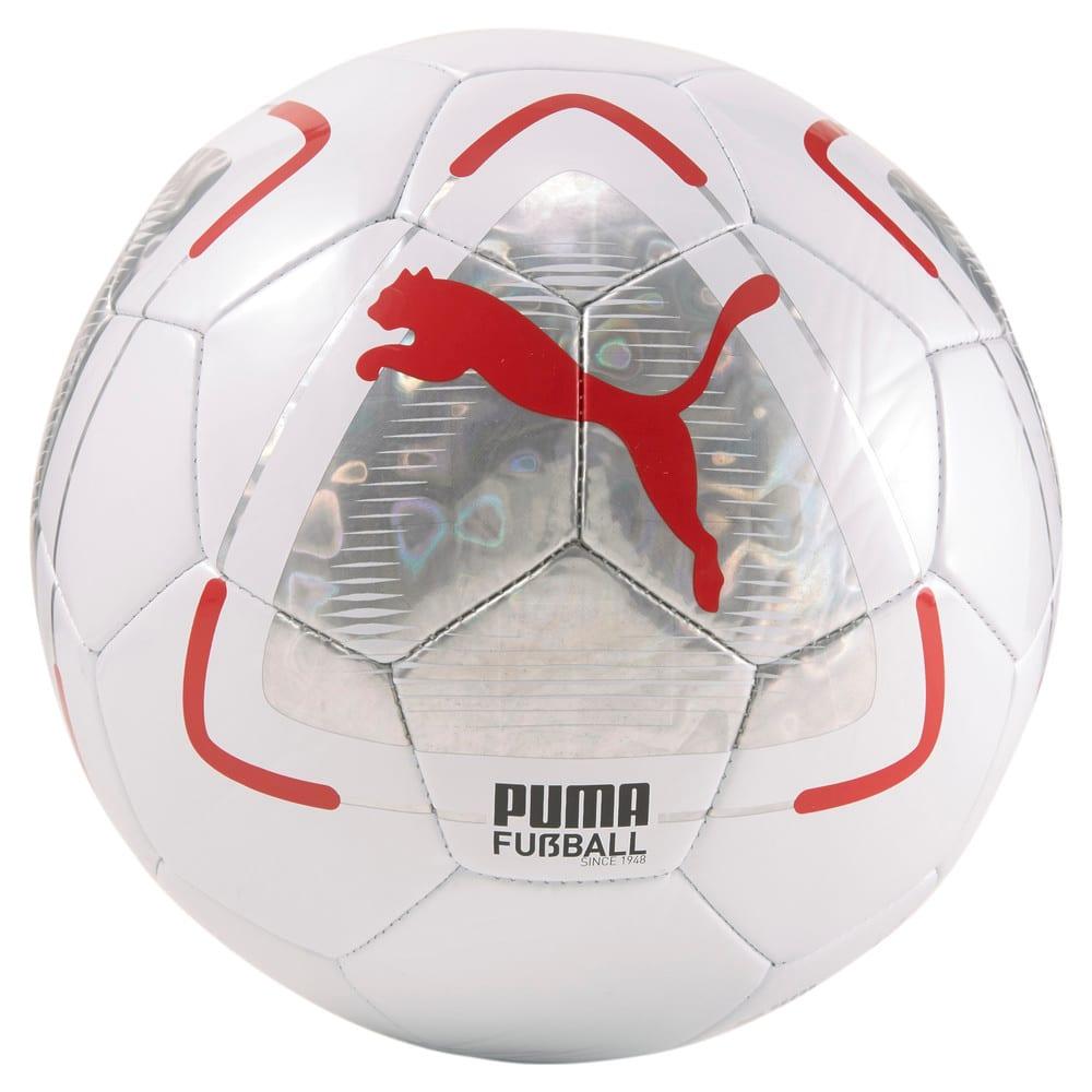 Зображення Puma Футбольний м'яч FUßBALL Park Football #1: Puma White-Elektro Aqua-Sunblaze