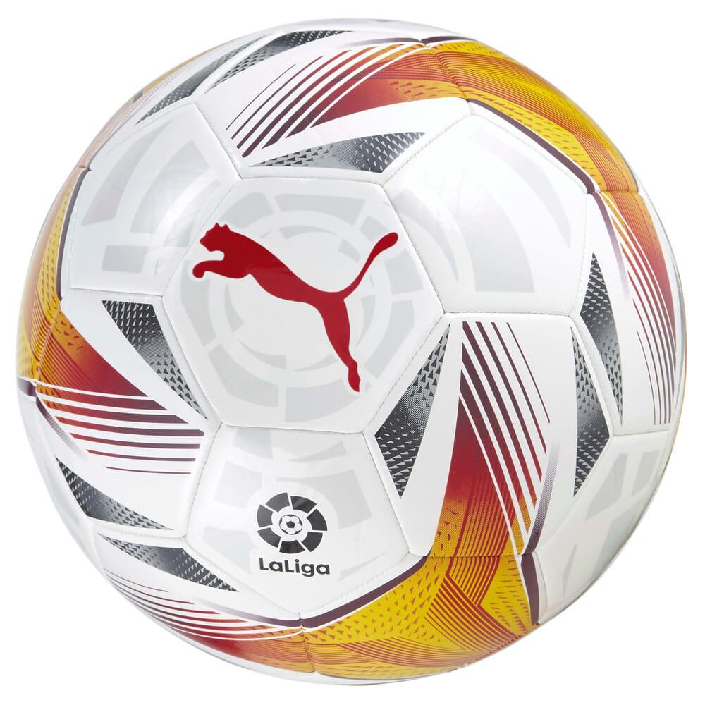 Зображення Puma Футбольний м'яч La Liga 1 Accelerate Machine-Stitched Football #2: Puma White-multi colour