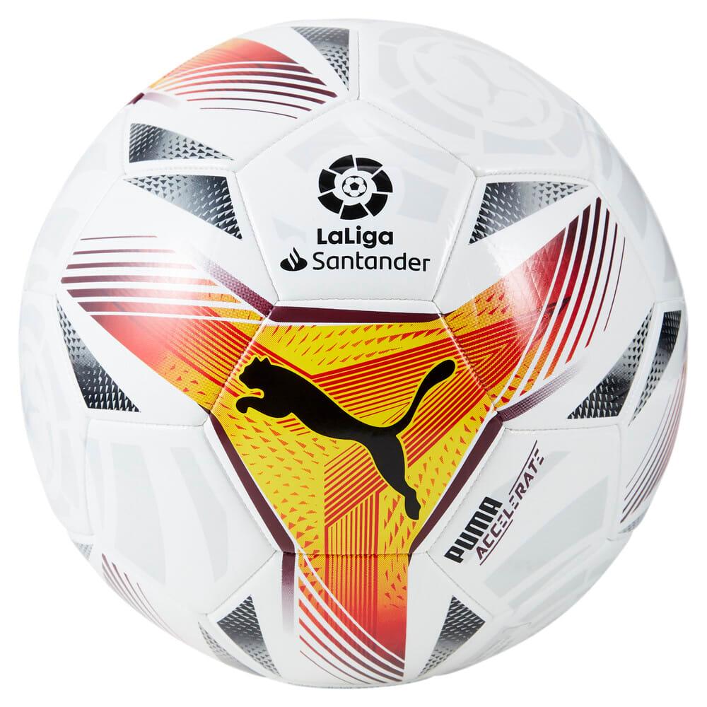 Зображення Puma Футбольний м'яч La Liga 1 Accelerate Machine-Stitched Football #1: Puma White-multi colour