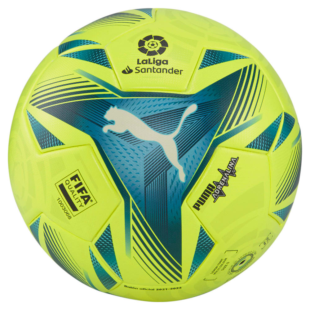 Изображение Puma Мяч La Liga1 Adrenalina Football #1: Lemon Tonic-multi colour