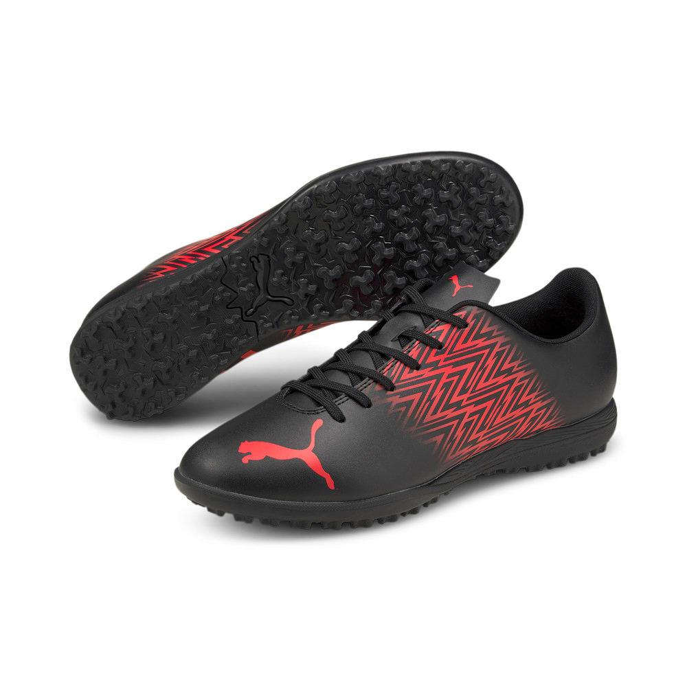Изображение Puma Бутсы TACTO TT Men's Football Boots #2: Puma Black-Sunblaze