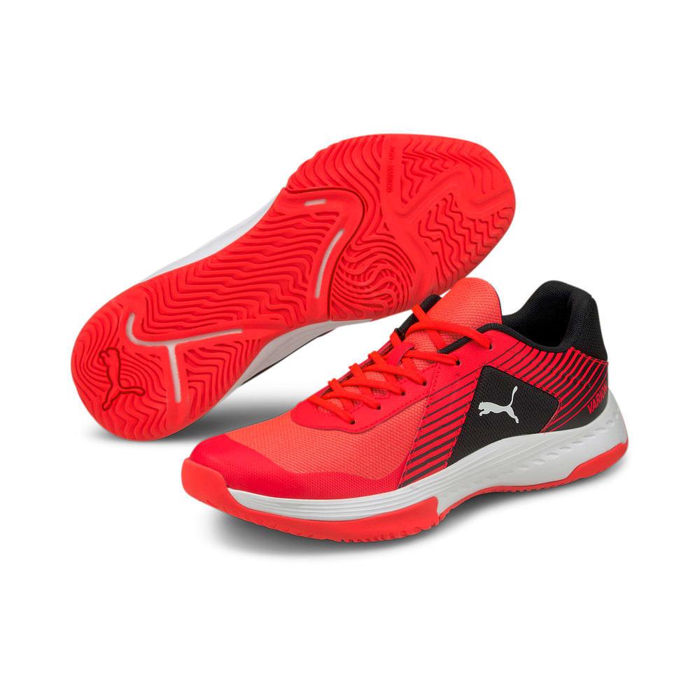 Изображение Puma Кроссовки Varion Indoor Sports Shoes #2: Red Blast-Puma White-Puma Black