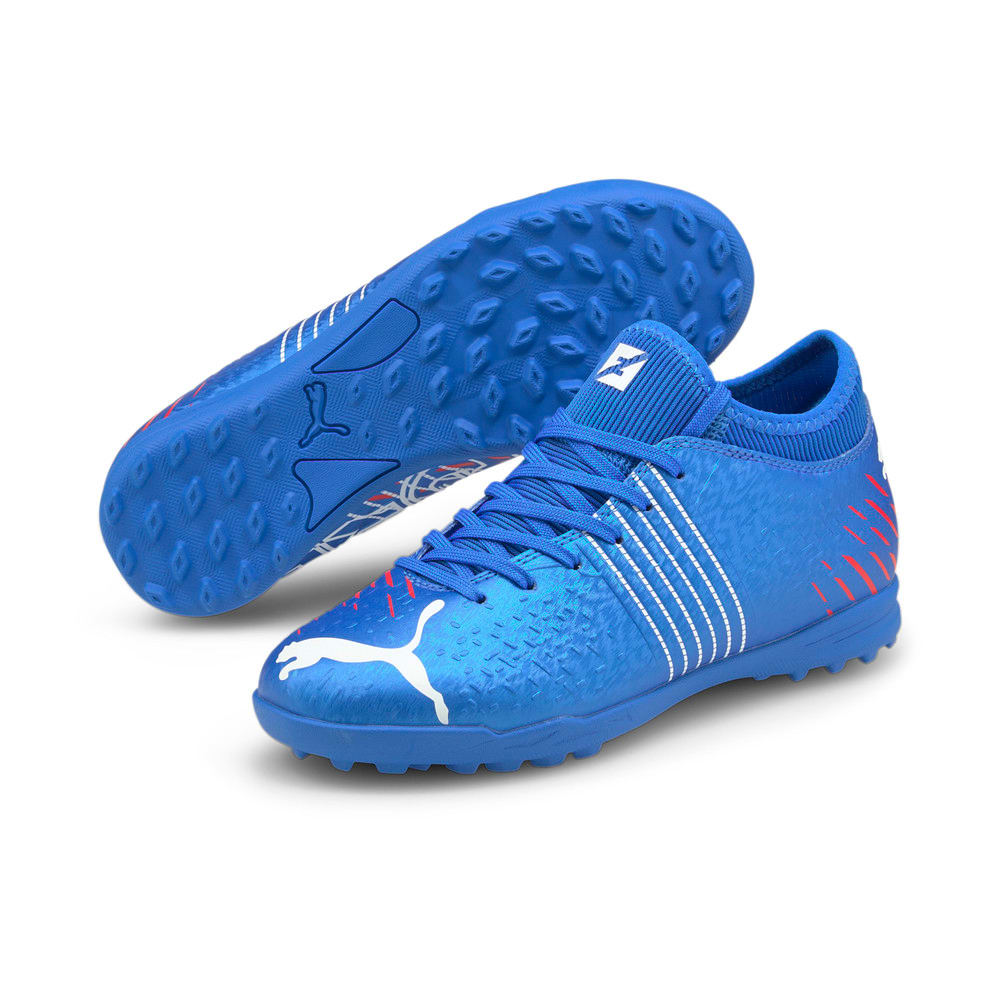 Зображення Puma Дитячі бутси Future Z 4.2 TT Youth Football Boots #2: Bluemazing-Sunblaze-Surf The Web