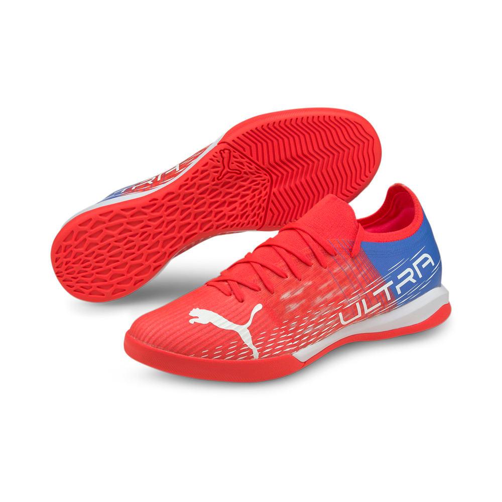 Изображение Puma Бутсы ULTRA 3.3 IT Men's Football Boots #2: Sunblaze-Puma White-Bluemazing