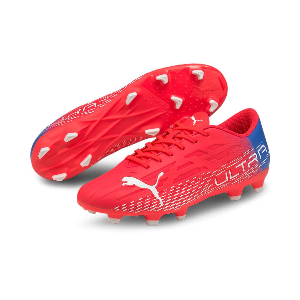 Зображення Puma Бутси ULTRA 4.3 FG/AG Men's Football Boots #2: Sunblaze-Puma White-Bluemazing