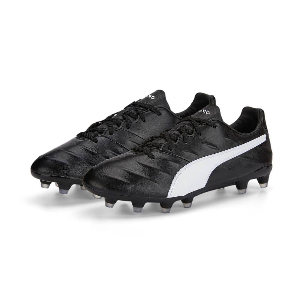 Изображение Puma Бутсы King Pro 21 FG Football Boots #2: Puma Black-Puma White