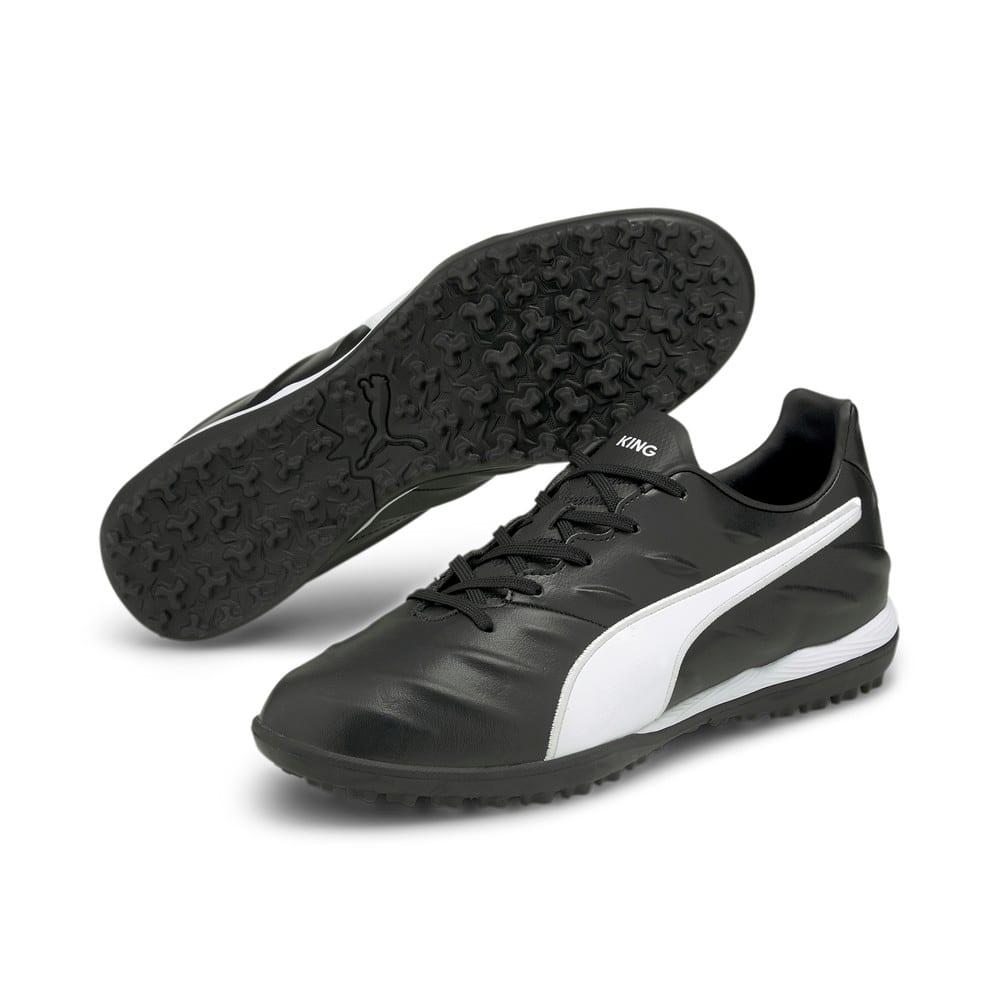 Изображение Puma Бутсы King Pro 21 TT Football Boots #2: Puma Black-Puma White