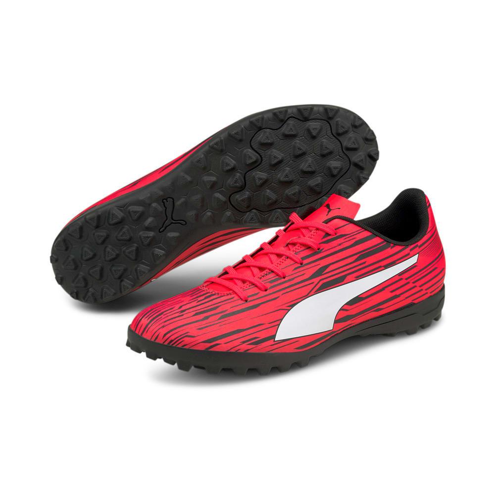 Изображение Puma Бутсы Rapido III TT Men's Football Boots #2: Sunblaze-Puma White-Puma Black