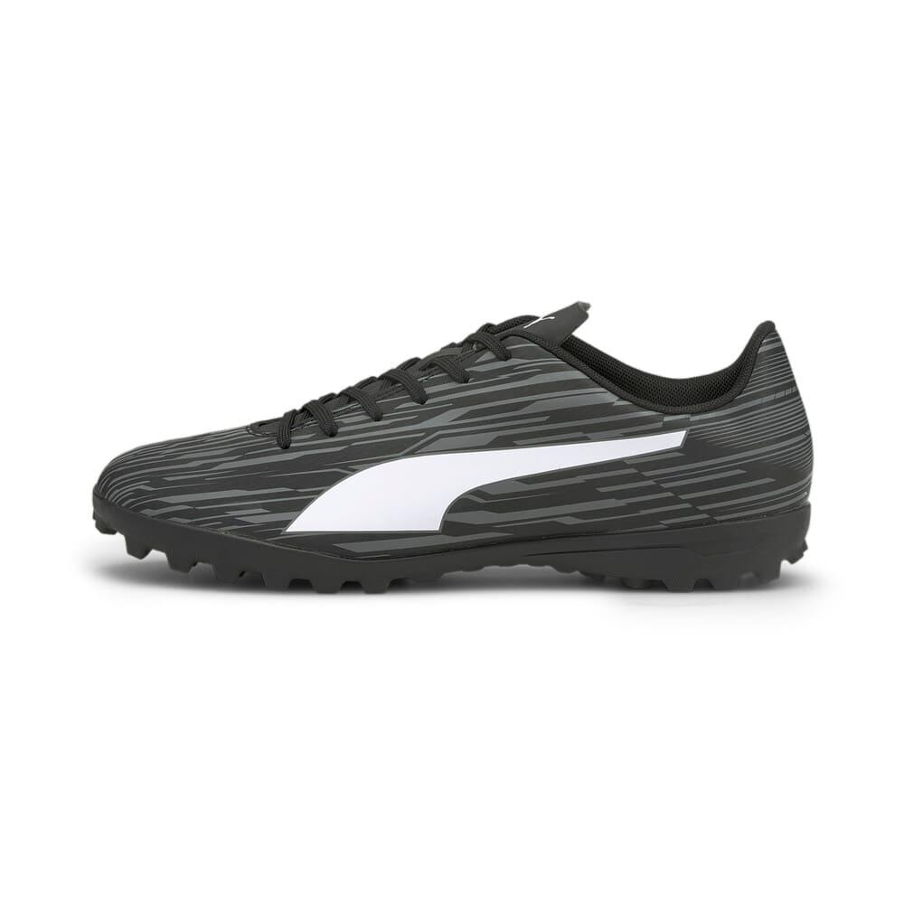 Изображение Puma Бутсы Rapido III TT Men's Football Boots #1: Puma Black-Puma White-CASTLEROCK