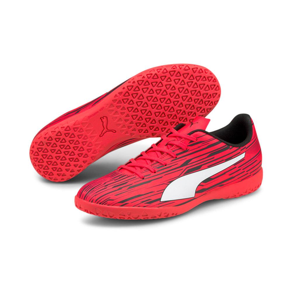 Зображення Puma Бутси Rapido III IT Men's Football Boots #2: Sunblaze-Puma White-Puma Black