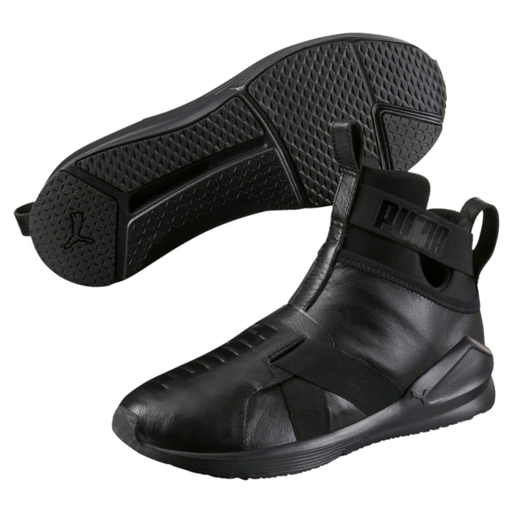 Görüntü Puma FIERCE Strap Leather Kadın Antrenman Ayakkabısı #2