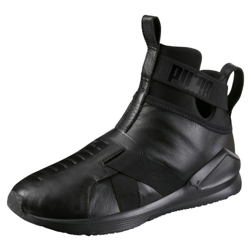 Görüntü Puma FIERCE Strap Leather Kadın Antrenman Ayakkabısı #1