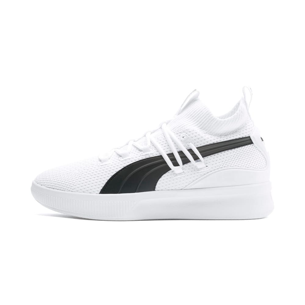 Изображение Puma Кроссовки Clyde Court Basketball Shoes #1: Puma White