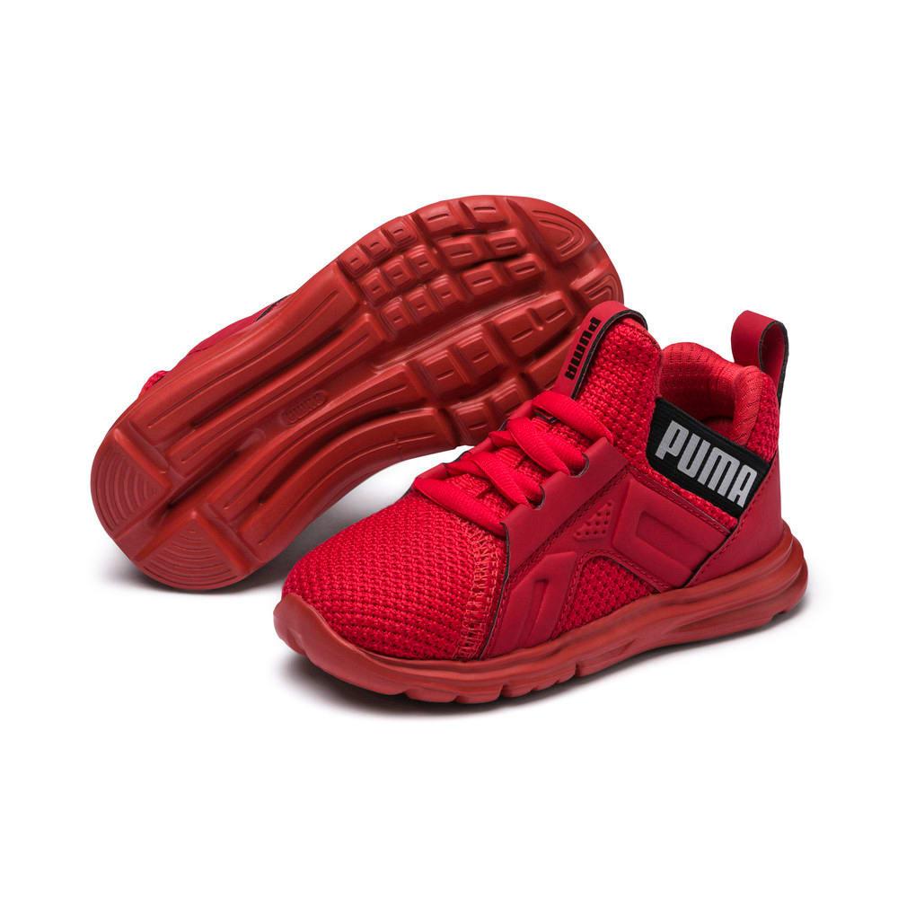 Изображение Puma Детские кроссовки Enzo Weave AC PS #2: High Risk Red-Puma Black