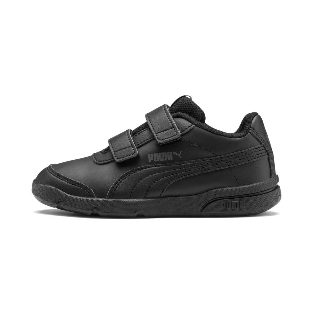 Изображение Puma Детские кроссовки Stepfleex 2 SL VE V PS #1: Puma Black-Puma Black
