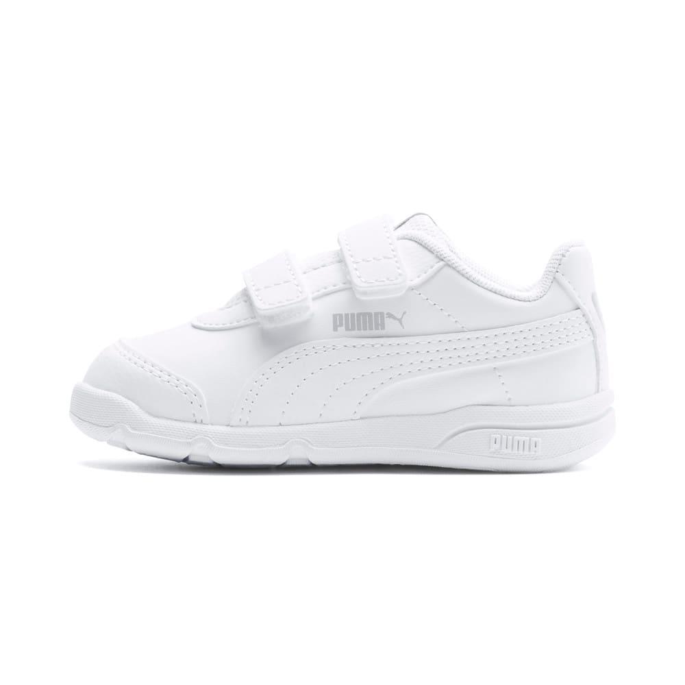 Изображение Puma Детские кроссовки Stepfleex 2 SL VE V Inf #1: Puma White-Puma White