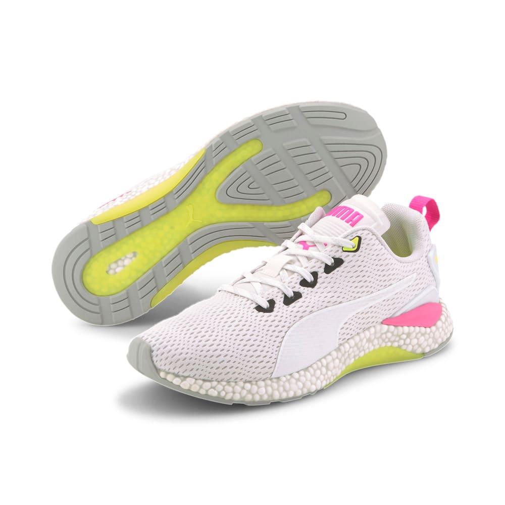 Зображення Puma Бігові кросівки Hybrid Runner v2 Running Shoes #2: White-Yellow-High Rise-Pink