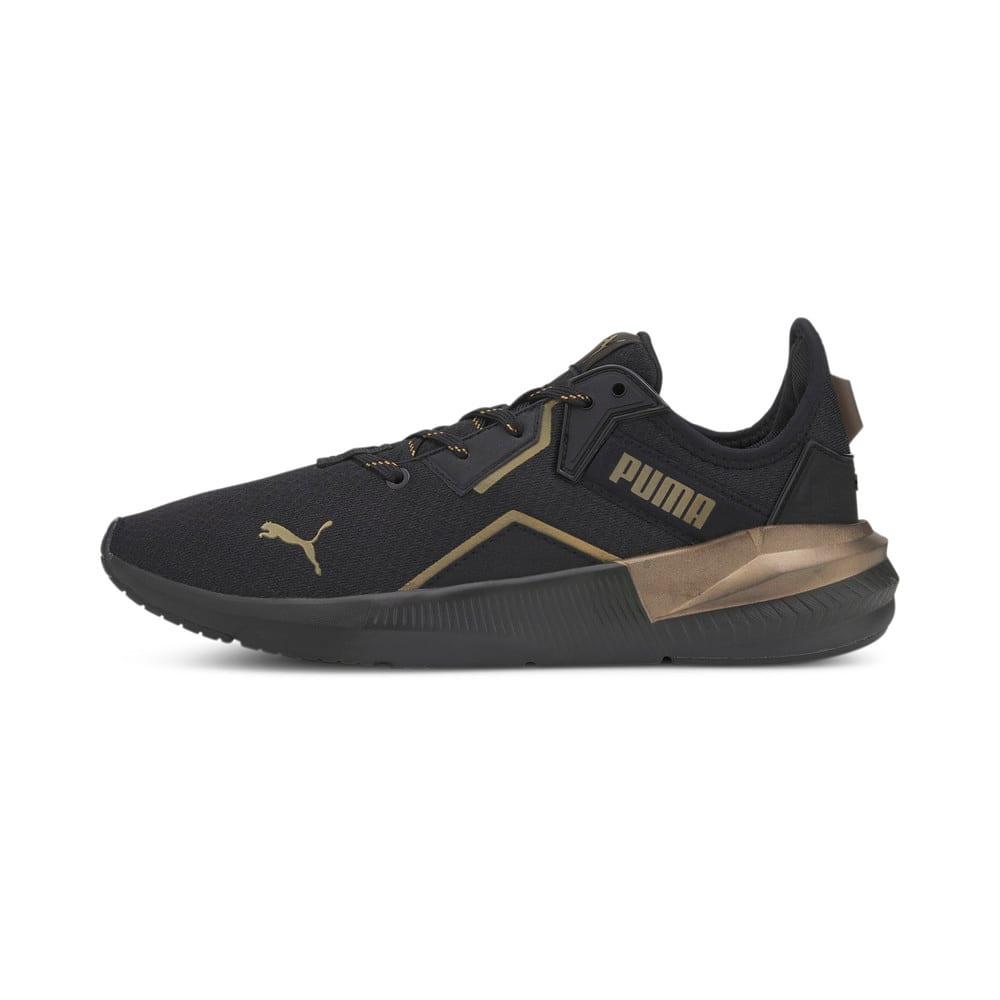 Зображення Puma Кросівки Platinum Metallic Wn's #1: Puma Black-GOLD