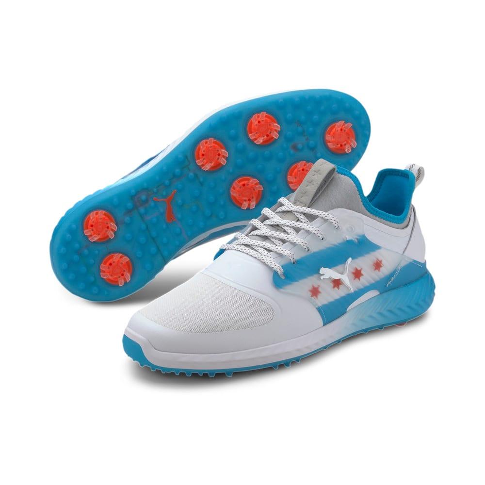 Image Puma IGNITE PWRADAPT Caged CTA Men's Golf Shoes #2