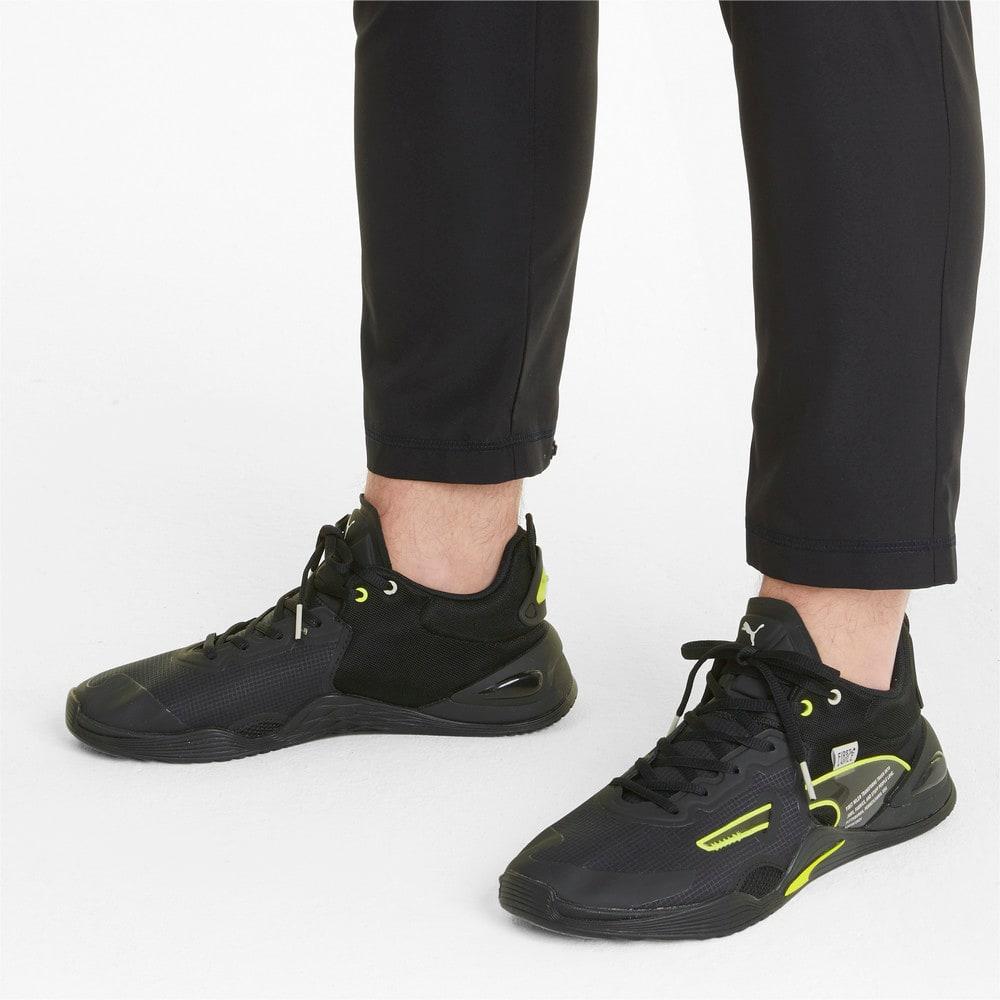 Зображення Puma Кросівки PUMA x FIRST MILE FUSE Men's Training Shoes #2: Puma Black-Yellow Alert