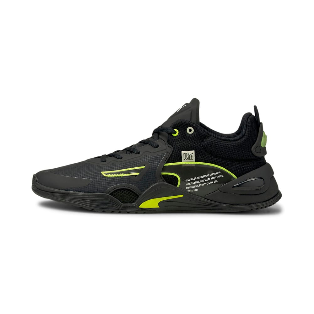 Зображення Puma Кросівки PUMA x FIRST MILE FUSE Men's Training Shoes #1: Puma Black-Yellow Alert