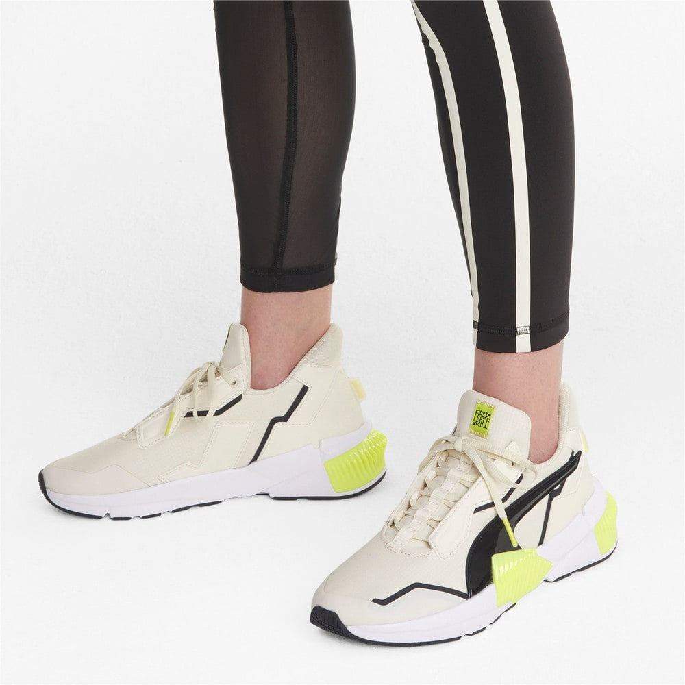 Зображення Puma Кросівки PUMA x FIRST MILE Provoke XT Women's Training Shoes #2: Eggnog-SOFT FLUO YELLOW