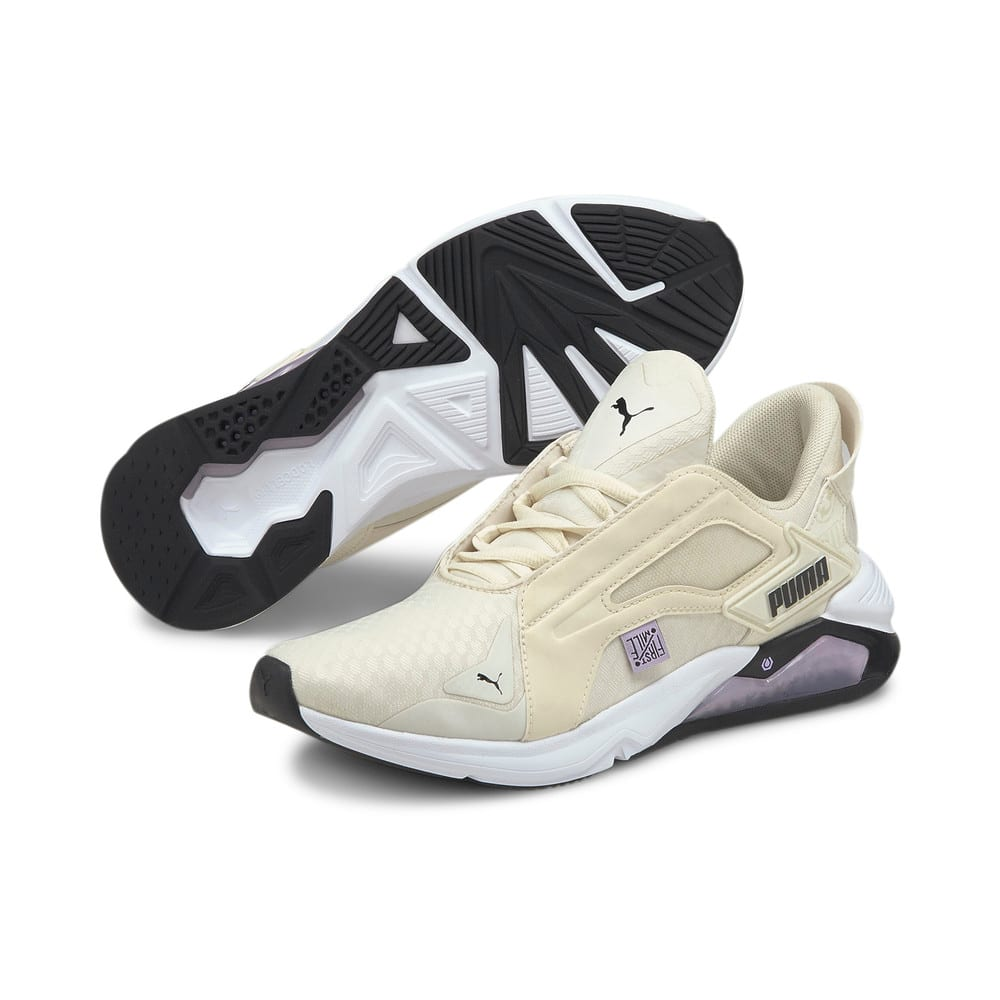 Изображение Puma Кроссовки PUMA x FIRST MILE LQDCELL Method Women's Training Shoes #2: Eggnog-Light Lavender-Black