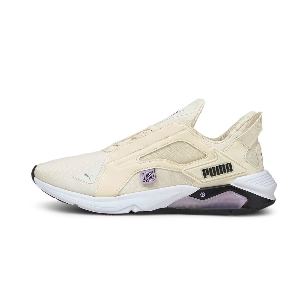 Изображение Puma Кроссовки PUMA x FIRST MILE LQDCELL Method Women's Training Shoes #1: Eggnog-Light Lavender-Black