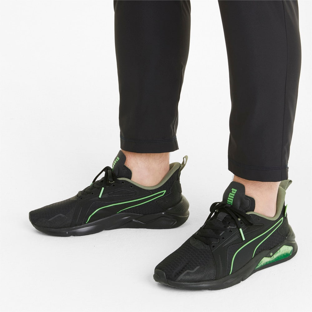 Зображення Puma Кросівки PUMA x FIRST MILE LQDCELL Method Men's Training Shoes #2: Black-Elektro Green-Vetiver