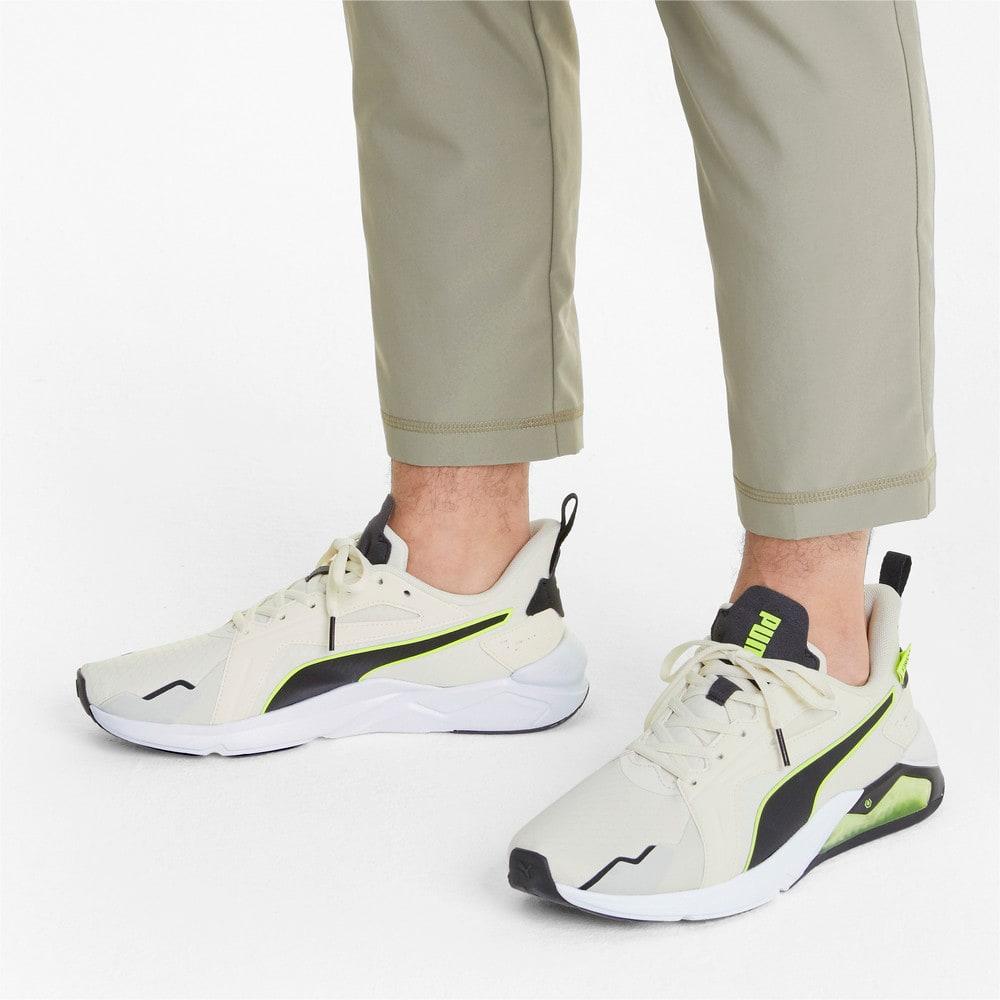 Зображення Puma Кросівки PUMA x FIRST MILE LQDCELL Method Men's Training Shoes #2: Eggnog-Yellow Alert-Black