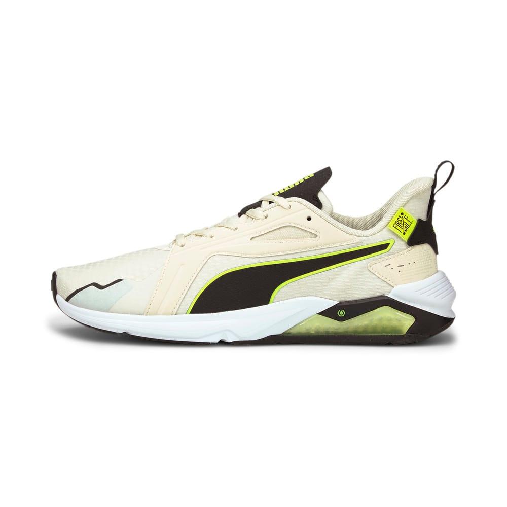 Зображення Puma Кросівки PUMA x FIRST MILE LQDCELL Method Men's Training Shoes #1: Eggnog-Yellow Alert-Black