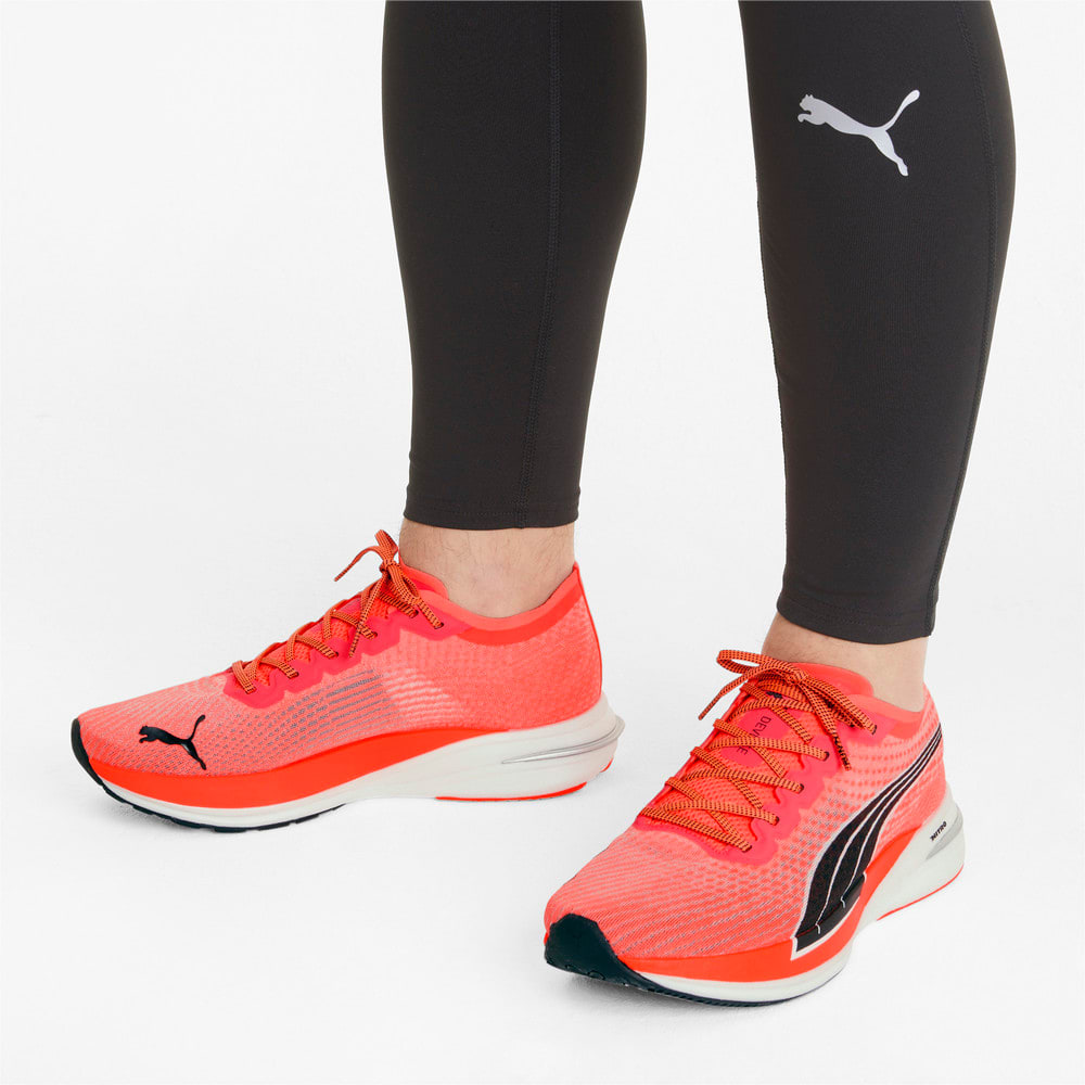 Изображение Puma Кроссовки DEVIATE NITRO Men's Running Shoes #2: Lava Blast-Puma Black