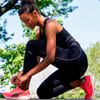Зображення Puma Кросівки DEVIATE NITRO Women's Running Shoes #9: Sunblaze