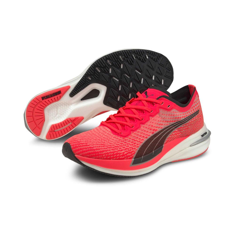 Зображення Puma Кросівки DEVIATE NITRO Women's Running Shoes #2: Sunblaze
