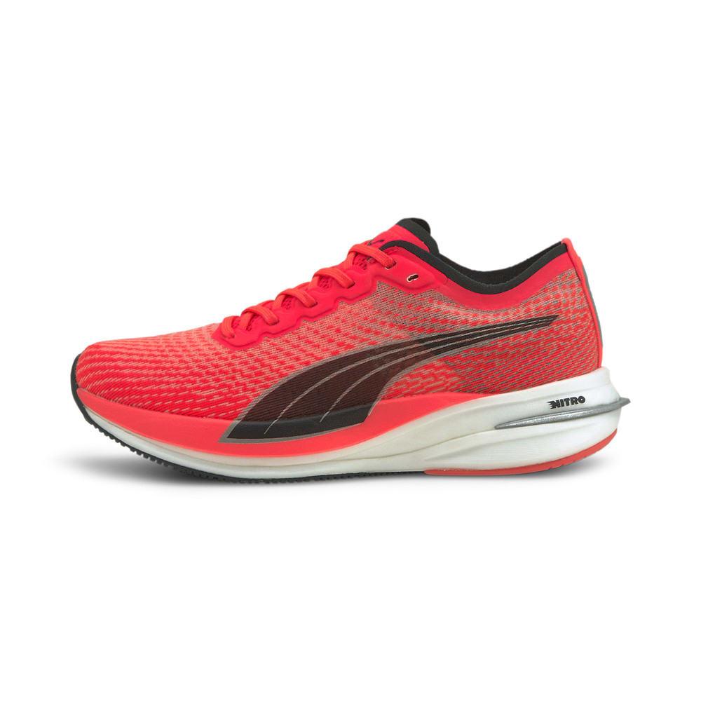Зображення Puma Кросівки DEVIATE NITRO Women's Running Shoes #1: Sunblaze