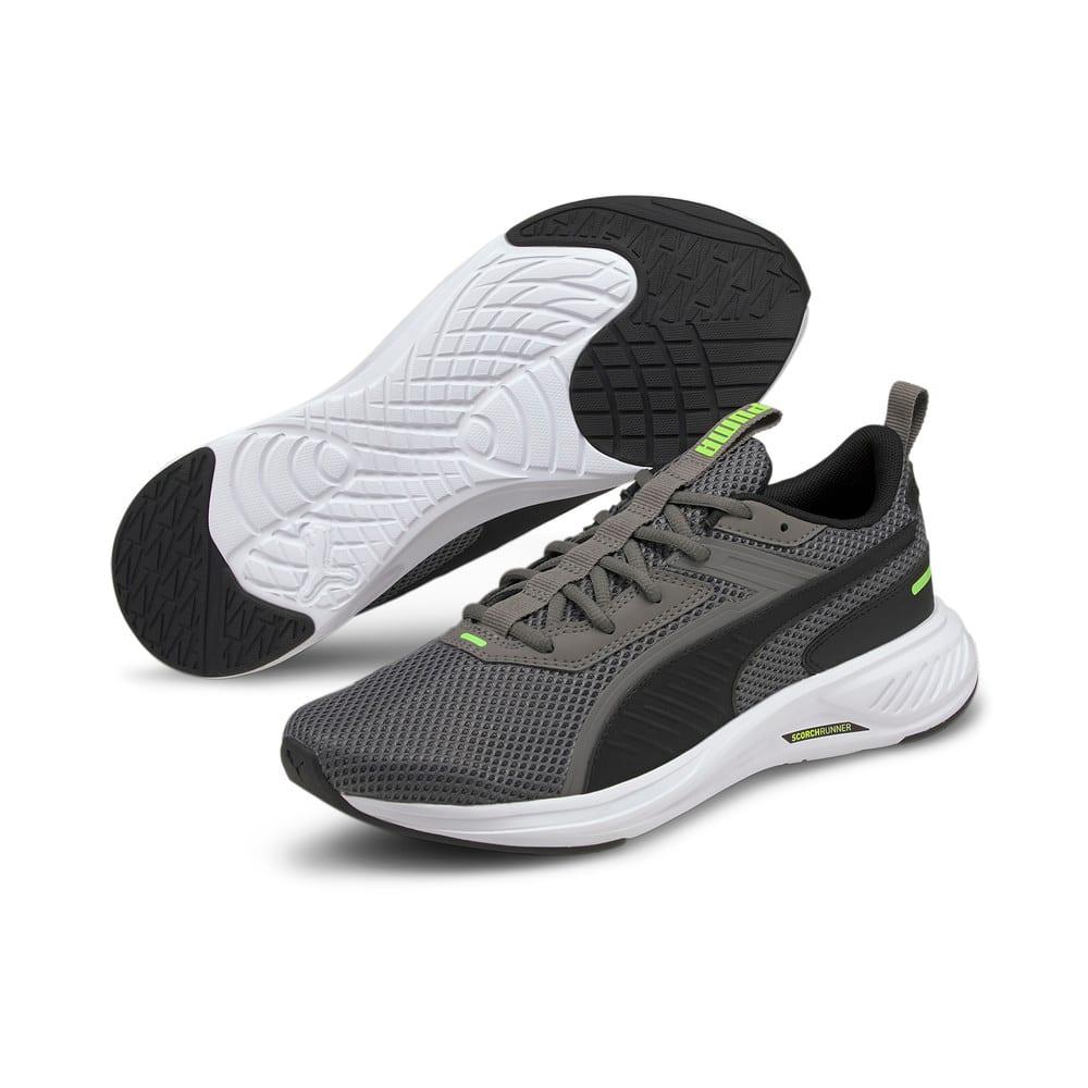 Зображення Puma Кросівки Scorch Runner Running Shoes #2: CASTLEROCK-Puma Black