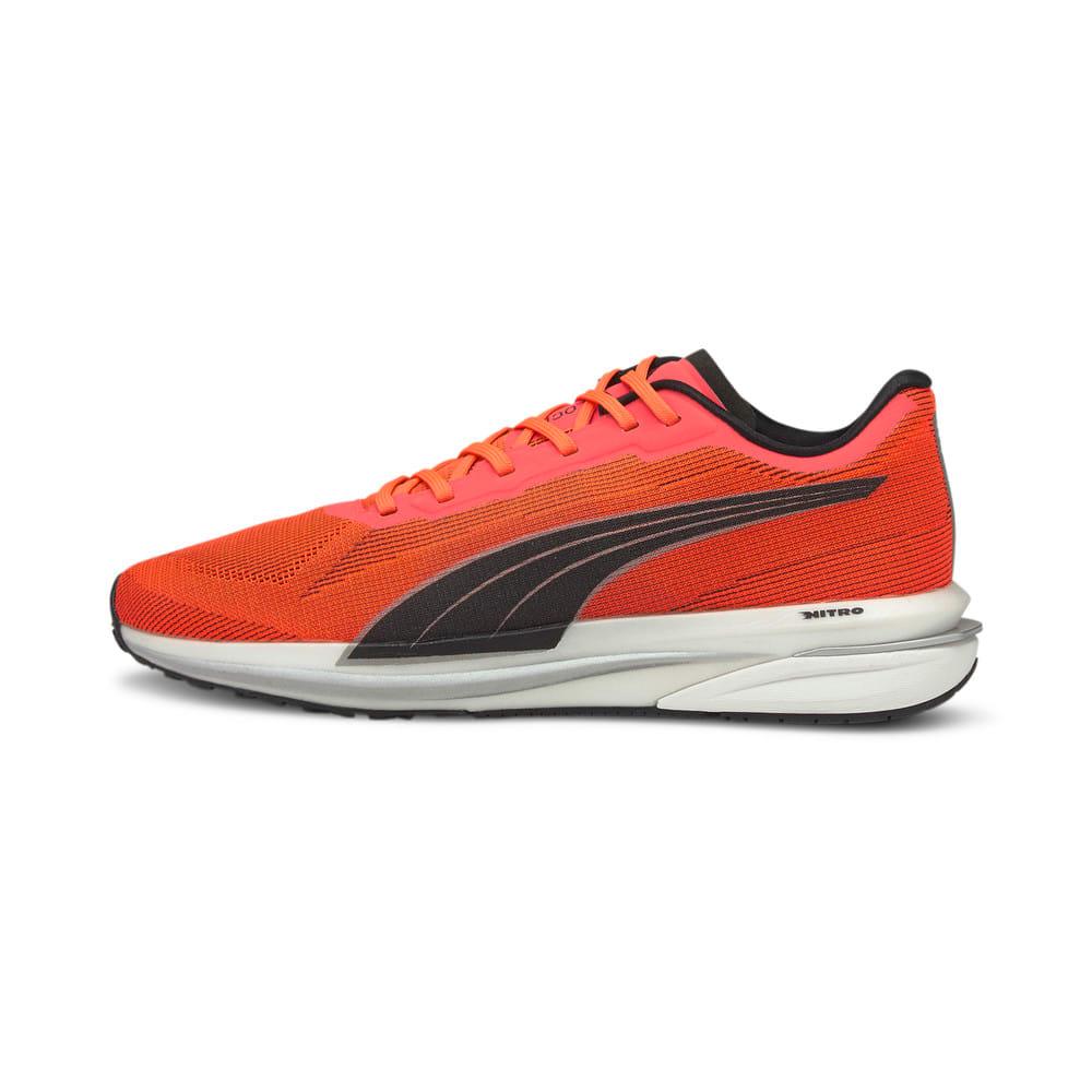 Зображення Puma Кросівки Velocity Nitro Men's Running Shoes #1: Lava Blast-Puma Black-Puma Silver