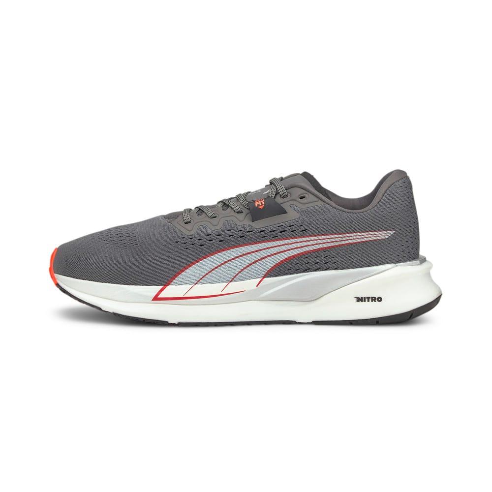 Изображение Puma Кроссовки Eternity Nitro Men's Running Shoes #1: CASTLEROCK-Puma White-Lava Blast