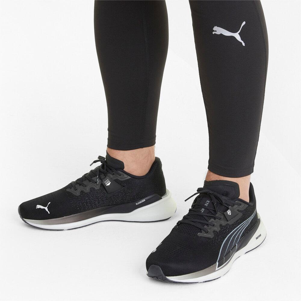 Зображення Puma Кросівки Eternity Nitro Men's Running Shoes #2: Puma Black-Puma White