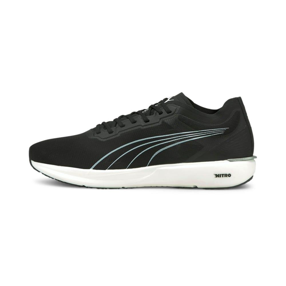 Изображение Puma Кроссовки Liberate Nitro Men's Running Shoes #1: Puma Black-Puma White-Puma Silver