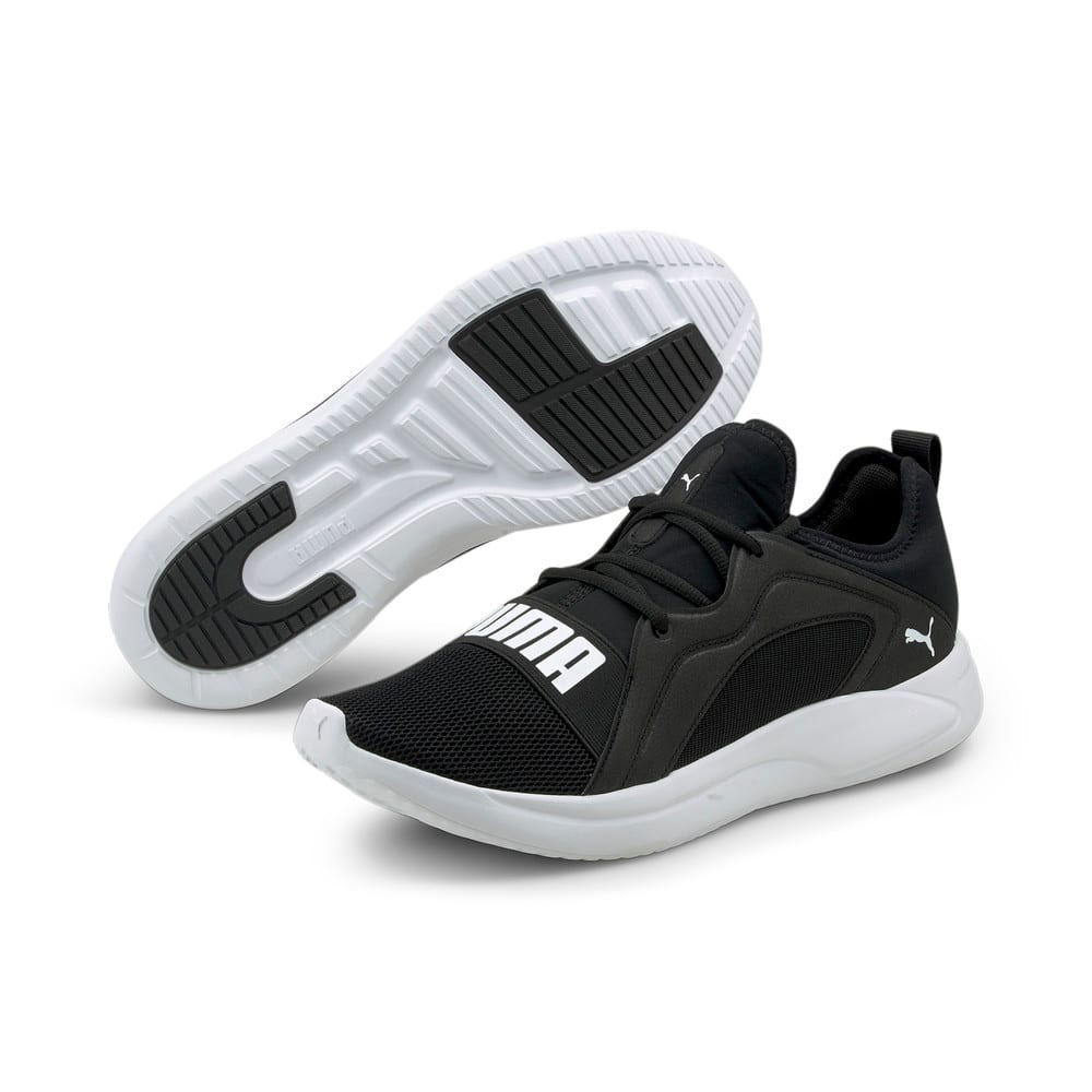 Изображение Puma Кроссовки Resolve Street Men's Running Shoes #2: Puma Black-Puma White