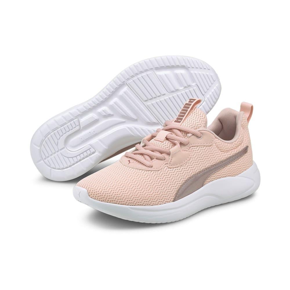 Изображение Puma Кроссовки Resolve Metallic Women's Running Shoes #2: Lotus-Puma White