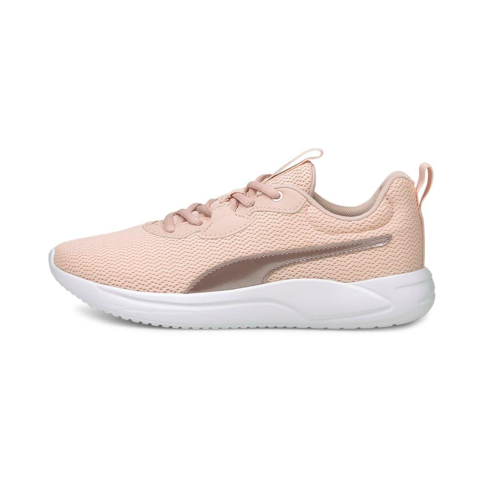 Изображение Puma Кроссовки Resolve Metallic Women's Running Shoes #1: Lotus-Puma White