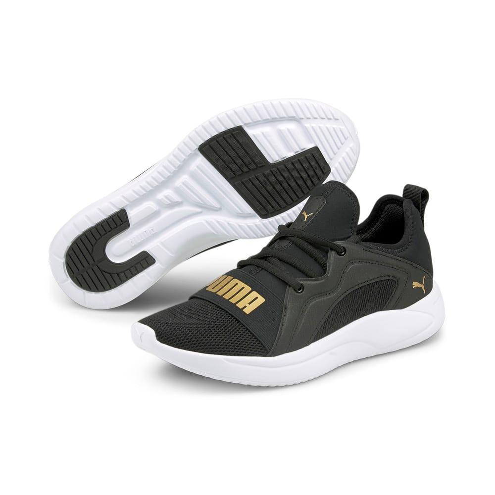 Зображення Puma Кросівки Resolve Street Women's Running Shoes #2: Puma Black-Puma Team Gold