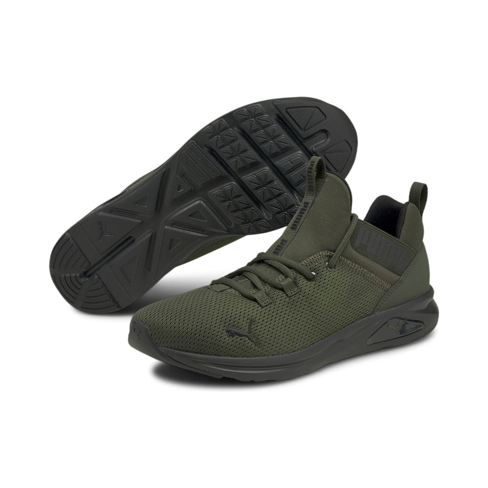 Изображение Puma Кроссовки Enzo 2 Uncaged Men's Running Shoes #2: Forest Night-Puma Black