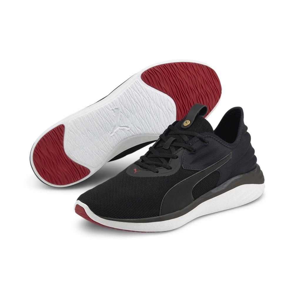 Изображение Puma Кроссовки Better Foam Emerge 3D Men's Running Shoes #2: Puma Black-Intense Red